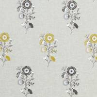 Arla Fabric - Chartreuse/Charcoal