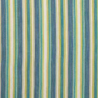 Ziba Fabric - Denim / Chartreuse