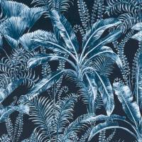 Majorelle Velvet Fabric - Midnight