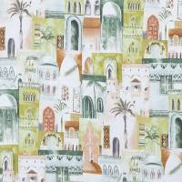 Marrakech Fabric - Apple