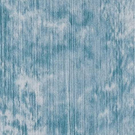 Clarke & Clarke Diffusion Decorative Weaves Haze Kingfisher - F1335/04 - Image 1