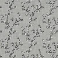 Blossom Fabric - Charcoal