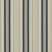 Belvoir Fabric - Charcoal / Chartreuse