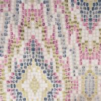 Mosaic Fabric - Raspberry