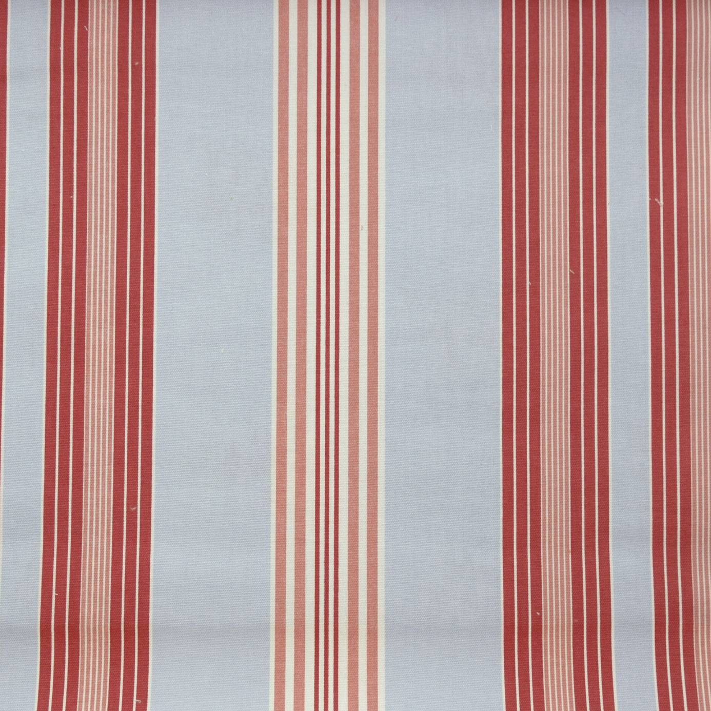 Curtains in lulu stripe fabric powder blue f0126 04 - Modern fabrics for curtains ...