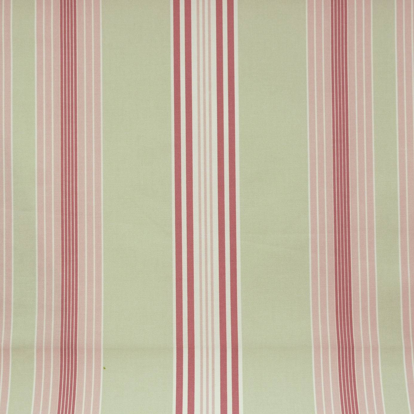 Curtains in lulu stripe fabric sage f0126 06 studio - Modern fabrics for curtains ...
