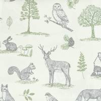 New Forest Fabric - Natural