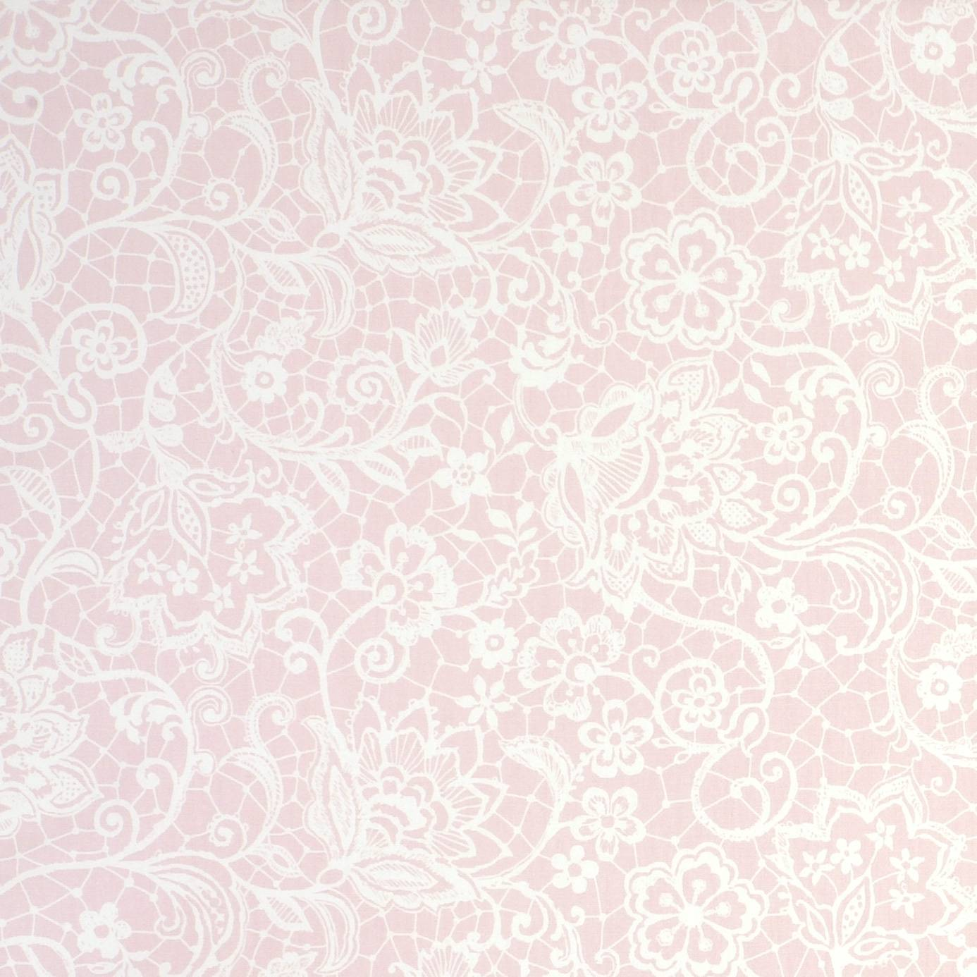 Lace Fabric - Pink (F0839/03) - Studio G Garden Party ...