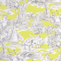Manor Toile Fabric - Citrus