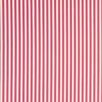 Party Stripe Fabric - Raspberry