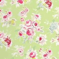 Rose Garden Fabric - Apple