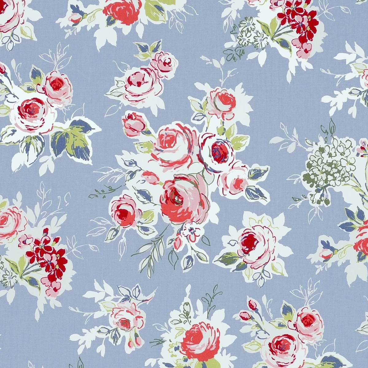 Rose garden fabric chambray f0842 03 studio g garden for Garden party fabric by blackbird designs