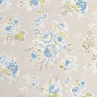 Rose Garden Fabric - Mineral