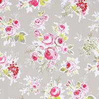 Rose Garden Fabric - Pebble