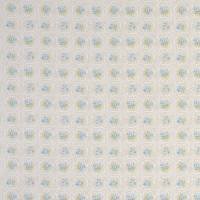 Rose Tile Fabric - Mineral