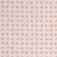 Rose Tile Fabric - Pink