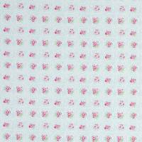 Rose Tile Fabric - Sky