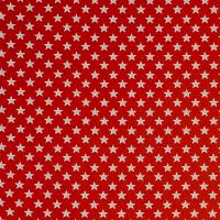 Shooting Stars Fabric - Red