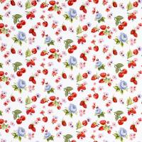 Summer Fruits Fabric - Chambray
