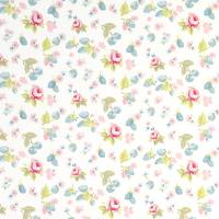 Summer Fruits Fabric - Mineral