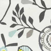 Folki Fabric - Chartreuse/Charcoal