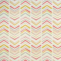 Chevron Fabric - Coral