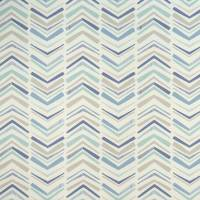 Chevron Fabric - Denim