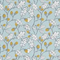 Acorn Trail Fabric - Duckegg