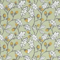 Acorn Trail Fabric - Sage