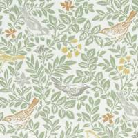 Bird Song Fabric - Autumn