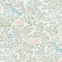 Bird Song Fabric - Pastel