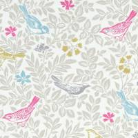 Bird Song Fabric - Summer