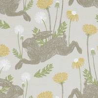 March Hare Fabric - Linen