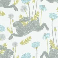 March Hare Fabric - Mineral