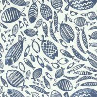 Trawler Fabric - Navy