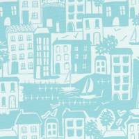 Waterside Fabric - Duckegg