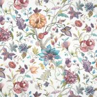 Delilah Fabric - Summer/Cream