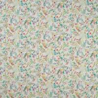 Forget Me Not Fabric - Linen