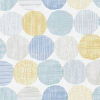 Stepping Stones Fabric - Chambray/Honey