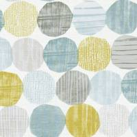 Stepping Stones Fabric - Mineral