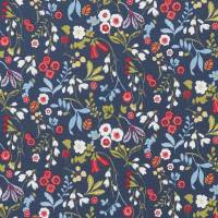 Ashbee Fabric - Rouge