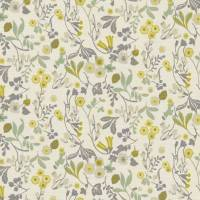 Ashbee Fabric - Forest/Chartreuse