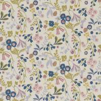 Ashbee Fabric - Teal/Blush