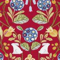 Forester Fabric - Rouge