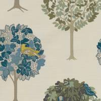 Sherwood Fabric - Forest/Chartreuse