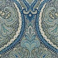 Coleridge Fabric - Federal Blue