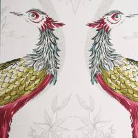 Fabled Crane Fabric 3