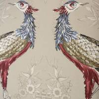 Fabled Crane Fabric 4