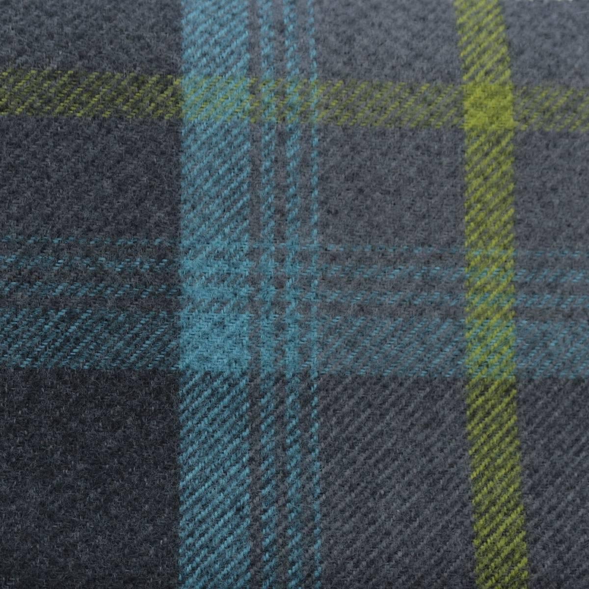 Roman Blinds In Balmoral Fabric Azure Balmoralazure