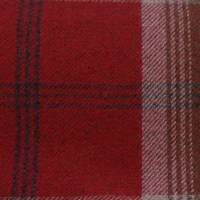 Balmoral Fabric - Red